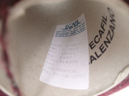 Меринос 30%, шёлк 12%, кид мохер 12%, PC 16%, РА 30%, серо- винный (Твид на кидмохере) (m.n.360м/100г.)