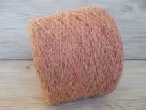 Як 35%, буретный шёлк 25%, меринос 15%, Па 25%, яблоневый цвет (m.n. 250м/100г.)